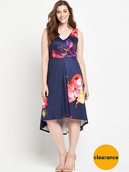 ax-paris-curve-hi-lo-floral-dress