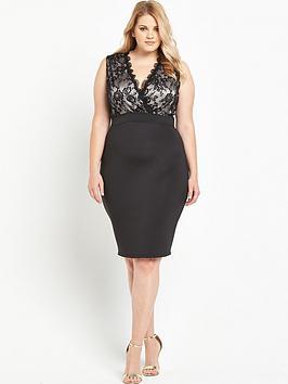 ax-paris-curve-lace-bodycon-dress