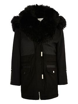 river-island-girls-black-faux-fur-trim-parka