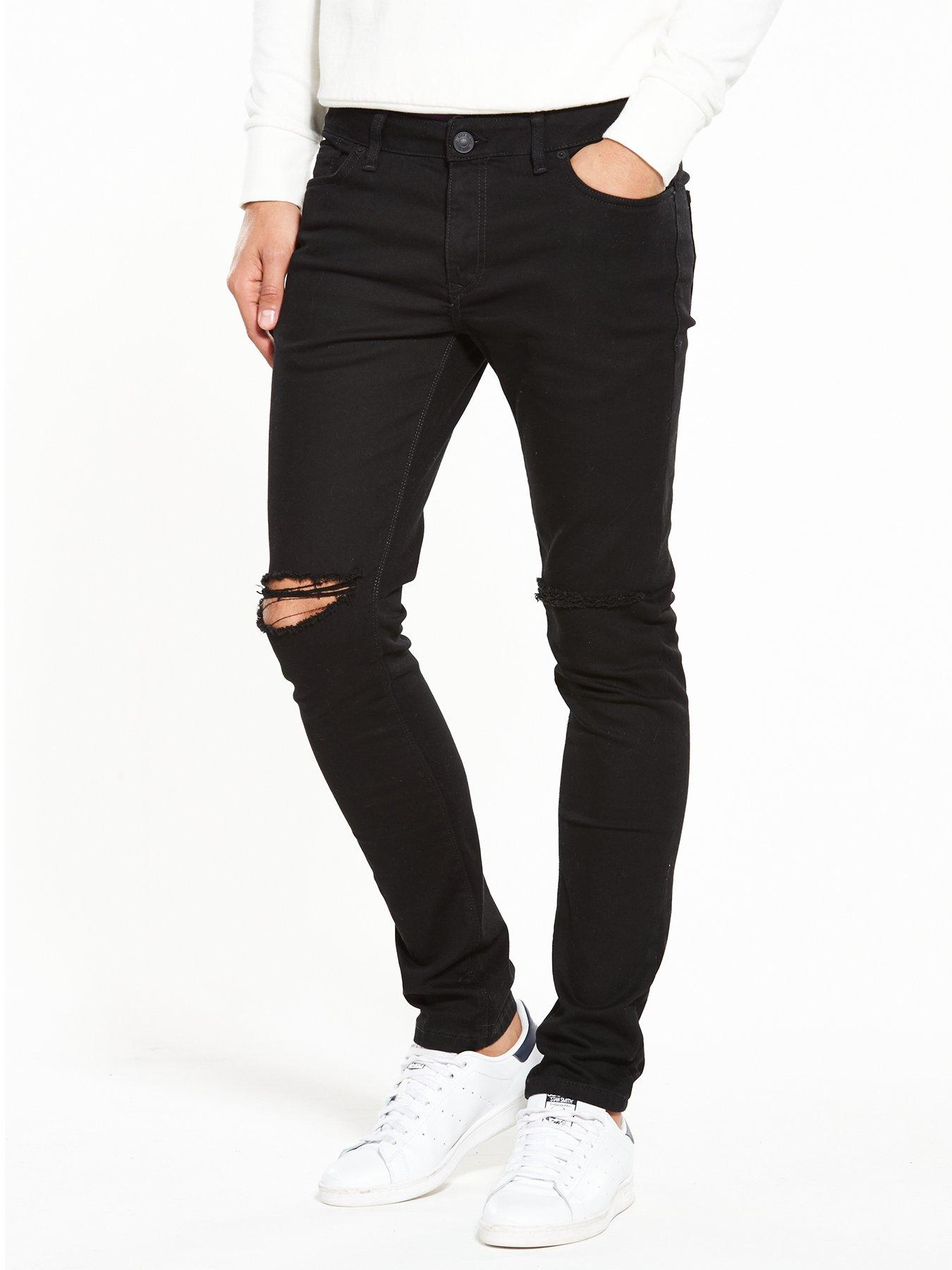 River Island Skinny Fit Ripped Jeans