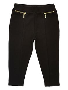 river-island-mini-girls-black-ponte-leggings