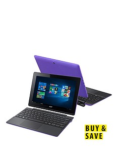 acer-switch-10-e-intelreg-atomtrade-quad-core-processor-2gb-ram-32gb-emmc-storage-101-inch-touchscreen-2-in-1-laptop-includes-microsoft-office-mobilenbspndash-purple