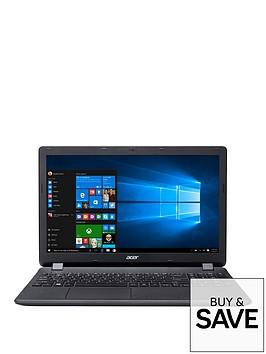 acer-aspire-es-15-intelreg-pentiumreg-processor-8gb-ram-2tb-hard-drive-156-inch-laptop-with-optional-microsoft-office-365-home-black