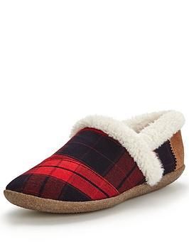toms-slip-on-slipper-red-and-black-plaid