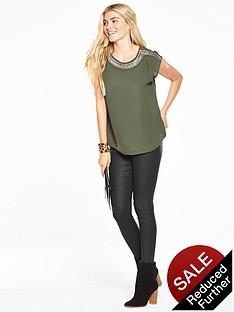 oasis-embellished-neck-t-shirt