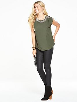 oasis-embellished-neck-t-shirt