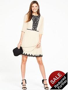oasis-rosie-lace-yoke-pleat-dress-ivory