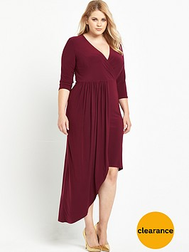 v-by-very-curve-asymmetric-wrap-front-dress-red