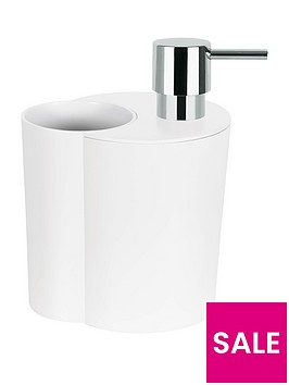 spirella-sun-amp-moon-soap-dispenser-and-beaker-in-white