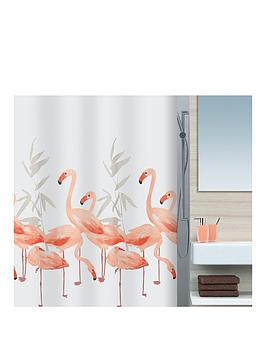 spirella-flamingo-shower-curtain-180-x-180cm