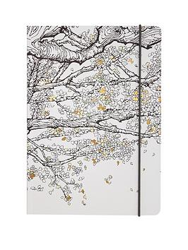 go-stationery-the-time-garden-a5-colouring-book-notebook