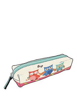 go-stationery-owls-pencil-case