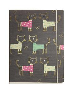go-stationery-love-cats-a5-notebook