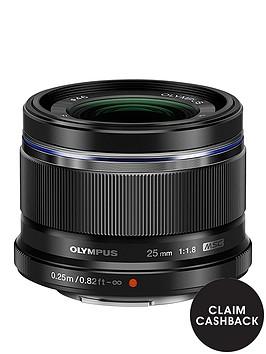 olympus-25mm-f18-lens