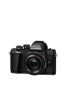 olympus-e-m10-mark-ii-compact-system-camera-with-14-42-mm-f35-56-ez-zoom-lens-ndash-black--nbspsave-pound30-with-voucher-code-mjxal
