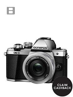 olympus-e-m10-mark-ii-compact-system-camera-with-14-42-mm-f35-56-ez-zoom-lens-ndash-silver