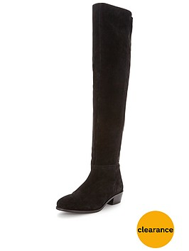 miss-selfridge-miss-selfridge-leather-panel-over-knee-boot