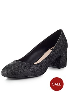 miss-selfridge-scallop-block-heel-shoe