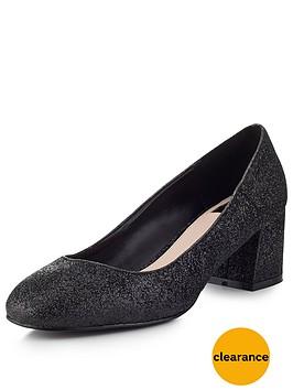 miss-selfridge-scallop-block-heel-shoe
