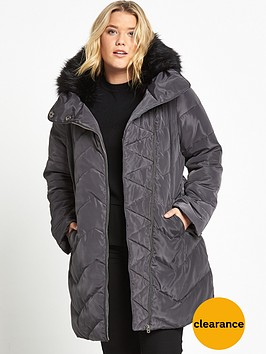 v-by-very-curve-longline-padded-jacket-dark-grey