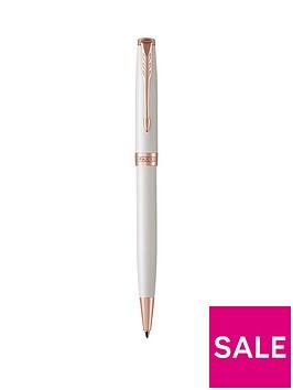 parker-sonnet-pearl-lacquer-rose-gold-trim-ballpoint-pen