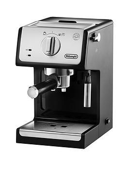 delonghi-ecpnbsp3321-traditional-pump-coffee-machine-silverblack
