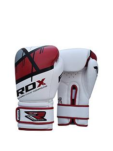 rdx-maya-hide-leather-gloves-ndash-redwhite