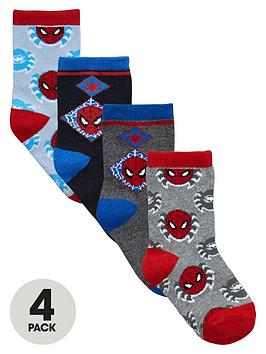 spiderman-boys-4-pack-of-socks