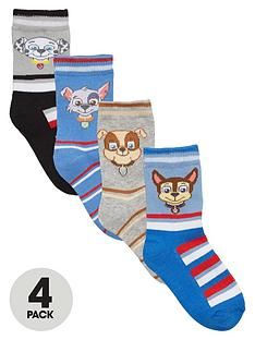 paw-patrol-boys-ankle-socks-4-pack
