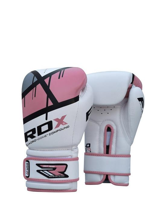 54061857016 RDX Maya Hide Leather Boxing Gloves   very.co.uk