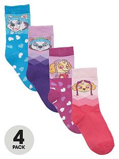 paw-patrol-girls-ankle-socks-4-pack