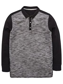 v-by-very-boys-long-sleeve-texturednbsppopper-sleevenbsppolo-shirt