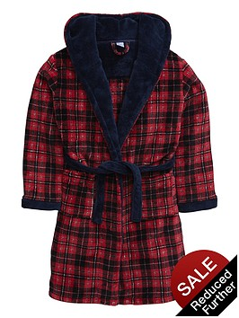 v-by-very-boys-tartan-fleece-robe