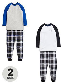 v-by-very-boys-check-pyjamas-set-2-pack