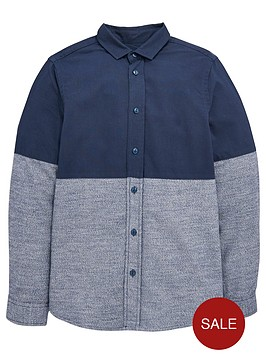 v-by-very-boys-cut-and-sew-marl-party-shirt