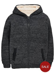 v-by-very-boys-borg-lined-chunky-zip-through-cardigan