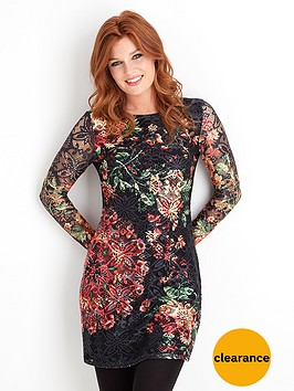 joe-browns-bright-lace-floral-dress