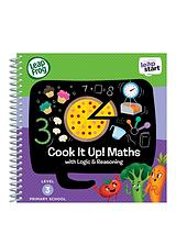 LeapStart Reception Activity Book: Cook It Up! Maths and Logic & Reasoning