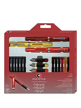 sheaffer-sheaffer-calligraphy-maxi-kit-with-three-fountain-pens