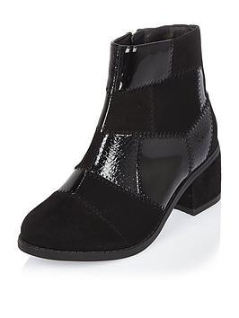 river-island-girls-block-heel-patchwork-boots