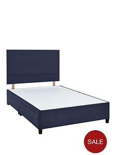 airsprung-abberley-divan-bed-base-and-headboard-with-optional-storage-navy