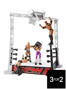 wwe-slam-and-launch-arena-with-4-figures-5-part-set