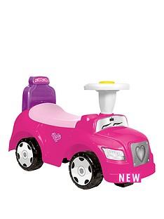 step-car-2-in-1-pink