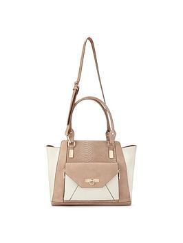 miss-selfridge-miss-selfridge-contrast-oversized-tote-bag