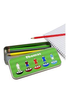 personalised-football-pencil-tin