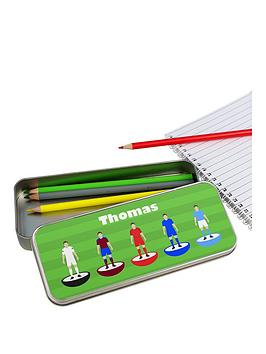 personalised-football-pencil-tin