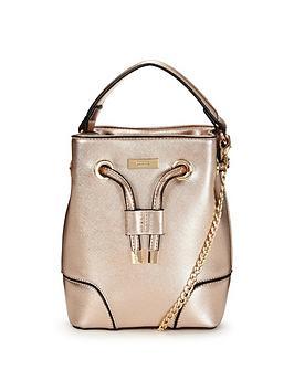 dune-ells-rose-gold-bucket-bag