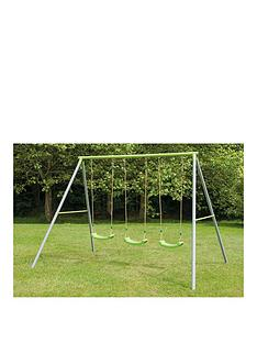 tp-painted-triple-swing-set