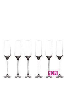 berghoff-hotel-line-set-of-6-champagne-flutes