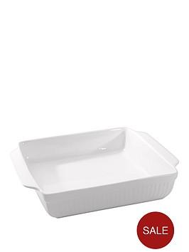 berghoff-hotel-line-small-glazed-porcelain-square-baking-dish